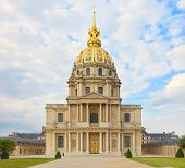 stock photo of bonaparte  - Les Invalides Paris France Europe - JPG