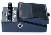 pic of ibanez  - isolated analog distortion rock guitar pedal black
