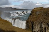 The Size And Fury Of Gullfoss In Iceland Is Comparable To Niagara Falls In The Usa And Canada. poster