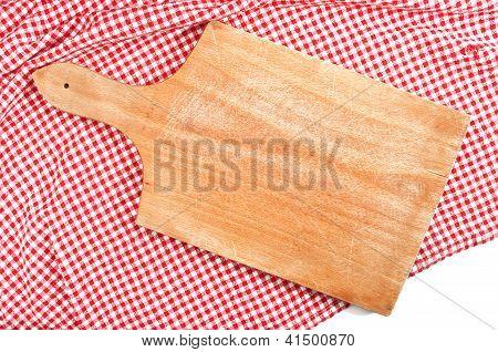 Brettchen auf Küchentisch