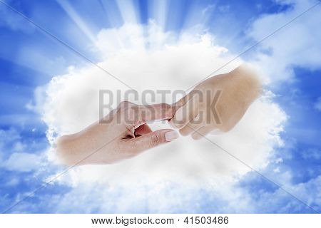 Hand From Heaven