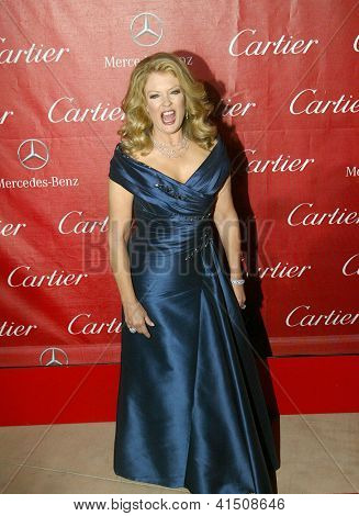 PALM SPRINGS, CA - JAN 5: Mary Hart arrives at the 2013 Palm Springs International Film Festival's Awards Gala at the Palm Springs Convention Center on Saturday, January 5, 2013 in Palm Springs, CA.
