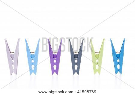 Pegs Isolated