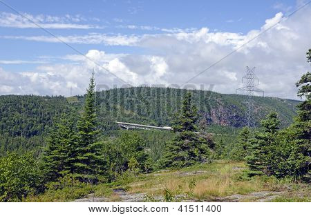 Bridge On Trans Canada Highway