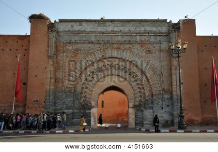 Bab Agnaou - Gate In Marrakech