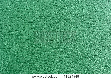 Green Artificial Leather Texture