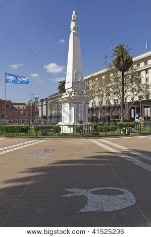 The Plaza De Mayo