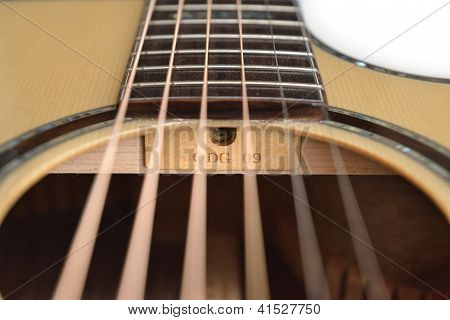 Guitar Truss Raod Hole