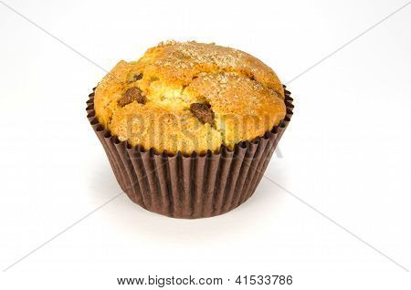 Single choc chip muffin