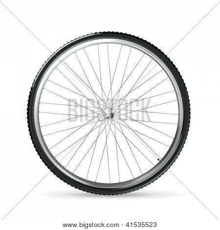 Bicycle wheel, bitmap copy