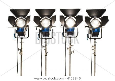Four  Searchlights