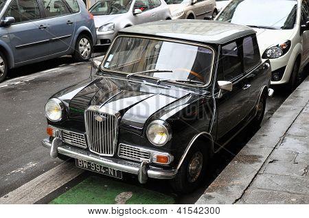 Wolseley Hornet Vintage Car