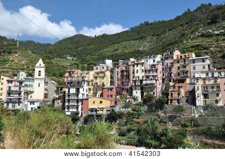 Manarola In Cinque Terre, Italy
