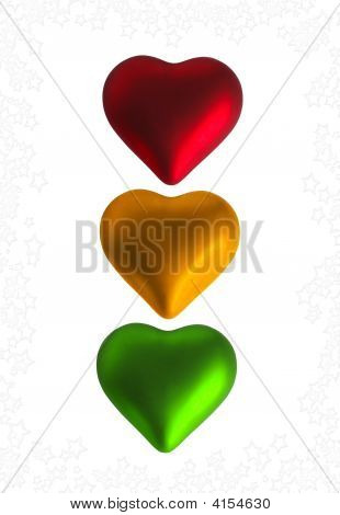 Many Coloured Hearts