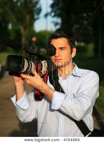 Young Cameraman