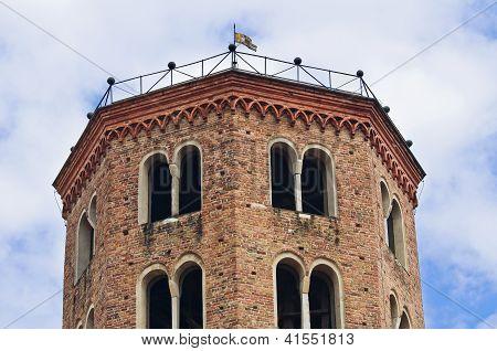 Basilica of St. Antonino. Piacenza. Emilia-Romagna. Italy.