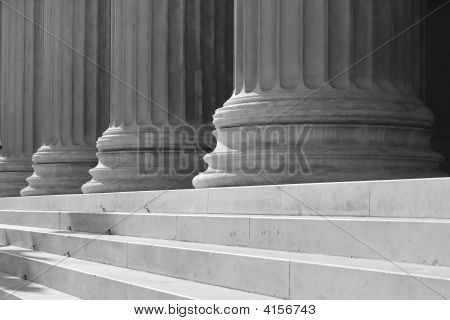 Columns And Stairs