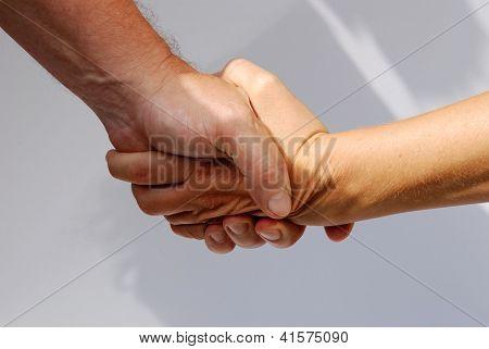 Handshake Male And Female