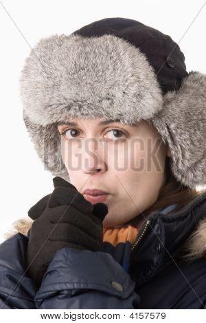 Warming Her Hands