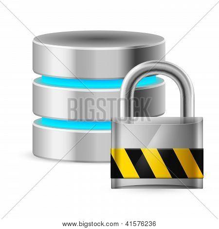 Database icon off