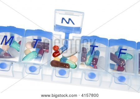 Pill Box For Medication