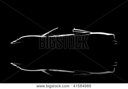 Illuminated Car