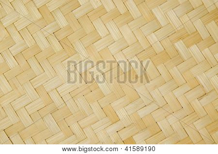 Bamboo basket texture