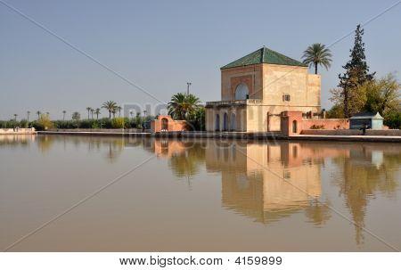Pavilion In The Menara Garden, Marrakech