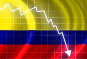 image of colombian currency  - Colombian flag waving in the wind - JPG