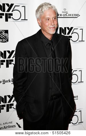 NEW YORK-SEP 27: Executive director Christopher Rouse attends the premiere of