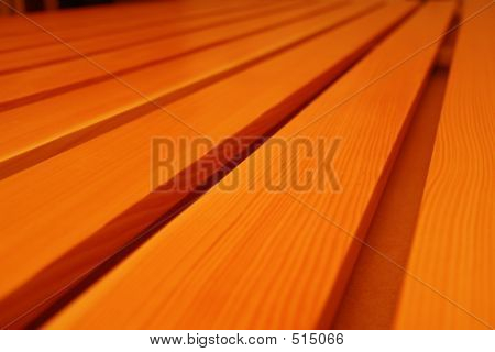 Pine Wood Grain In Planks Of Wood 2