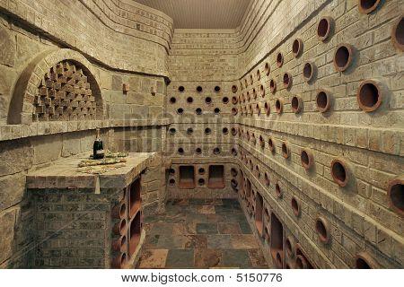 Wine Cellar Portholes