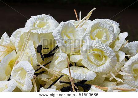 Wooden Flower For Buddhist Cremation