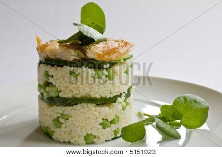 Mackerel Salad Stack