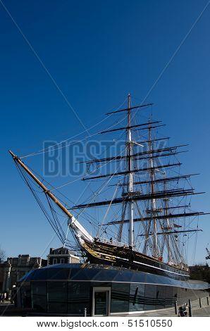 Cutty Sark Ship, Greenwich