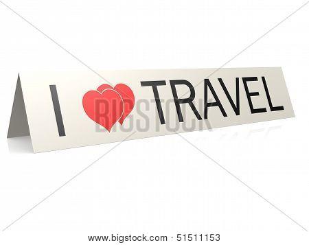 I love travel
