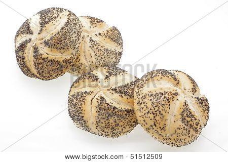 Poppyseed Vienna Bread Rolls