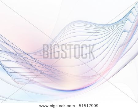 Fractal Waves Design