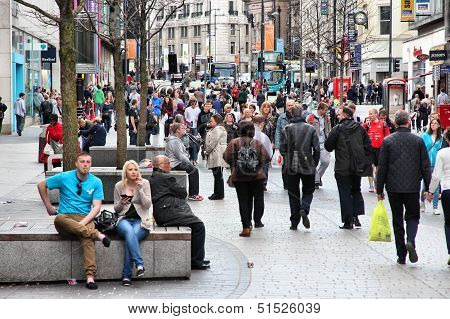 Liverpool Shopping Area