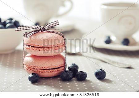 Süße Makronen