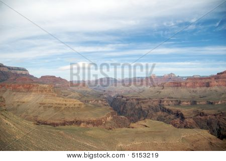 Grand Canyon From Horseshoe Mesa