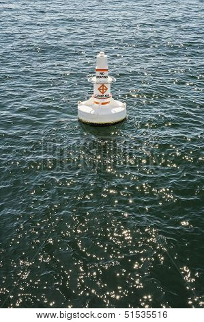 Buoy In Harbor