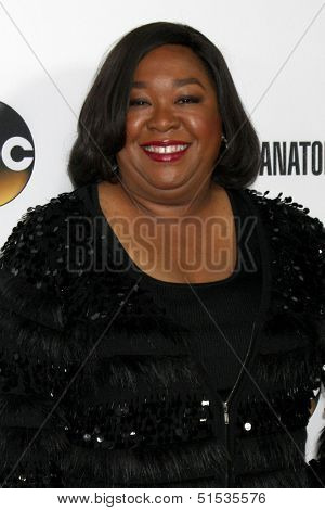 LOS ANGELES - SEP 28:  Shonda Rhimes at the Grey's Anatomy 200th Show Party at The Colony on September 28, 2013 in Los Angeles, CA