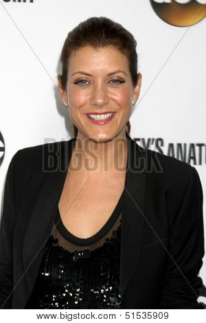 LOS ANGELES - SEP 28:  Kate Walsh at the Grey's Anatomy 200th Show Party at The Colony on September 28, 2013 in Los Angeles, CA