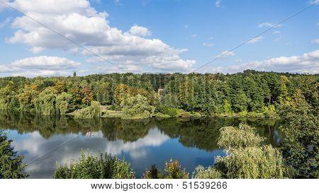 Silesia Park in Chorzow