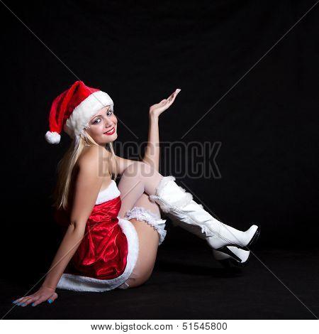 Sexy Woman Santa Claus