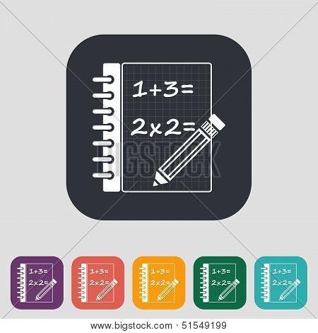 Mathematics icon.