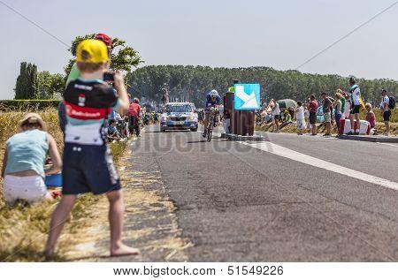 Young Cycling Fan