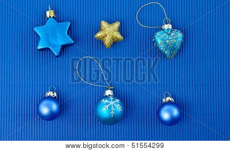 Background With Christmas Ornaments