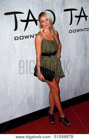 NEW YORK-SEP 28: Actress Katrina Bowden attends the grand opening of TAO Downtown at the Maritime Hotel on September 28, 2013 in New York City.